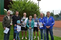 Siegerbild Tennis Turnier 2017